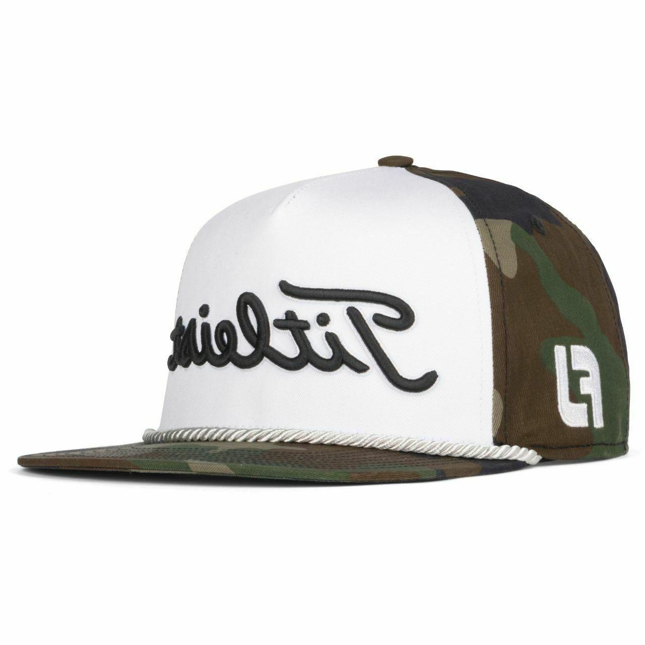 Rope hat/Cap Woodland Camo Edition