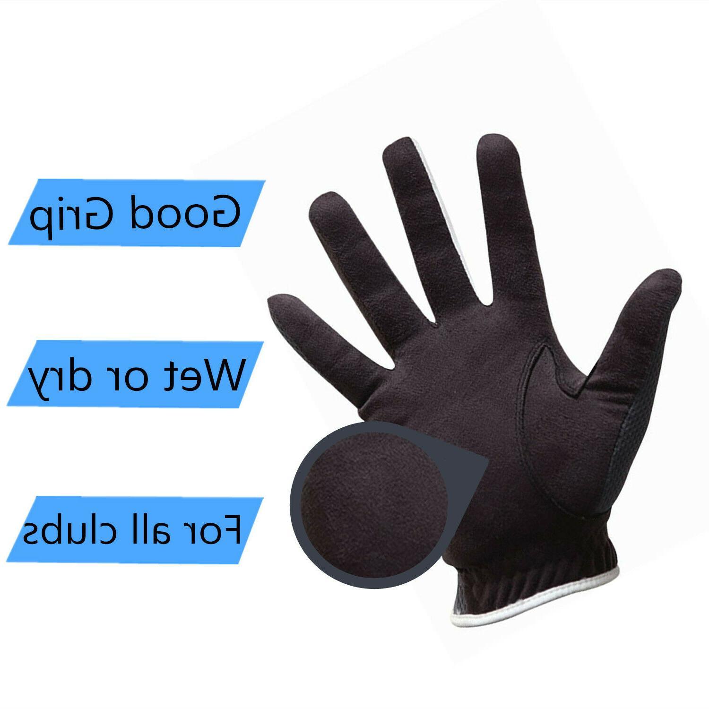 Men's 6 Gloves Left Hand Lh Rh Hot Wet Grip XL L ML