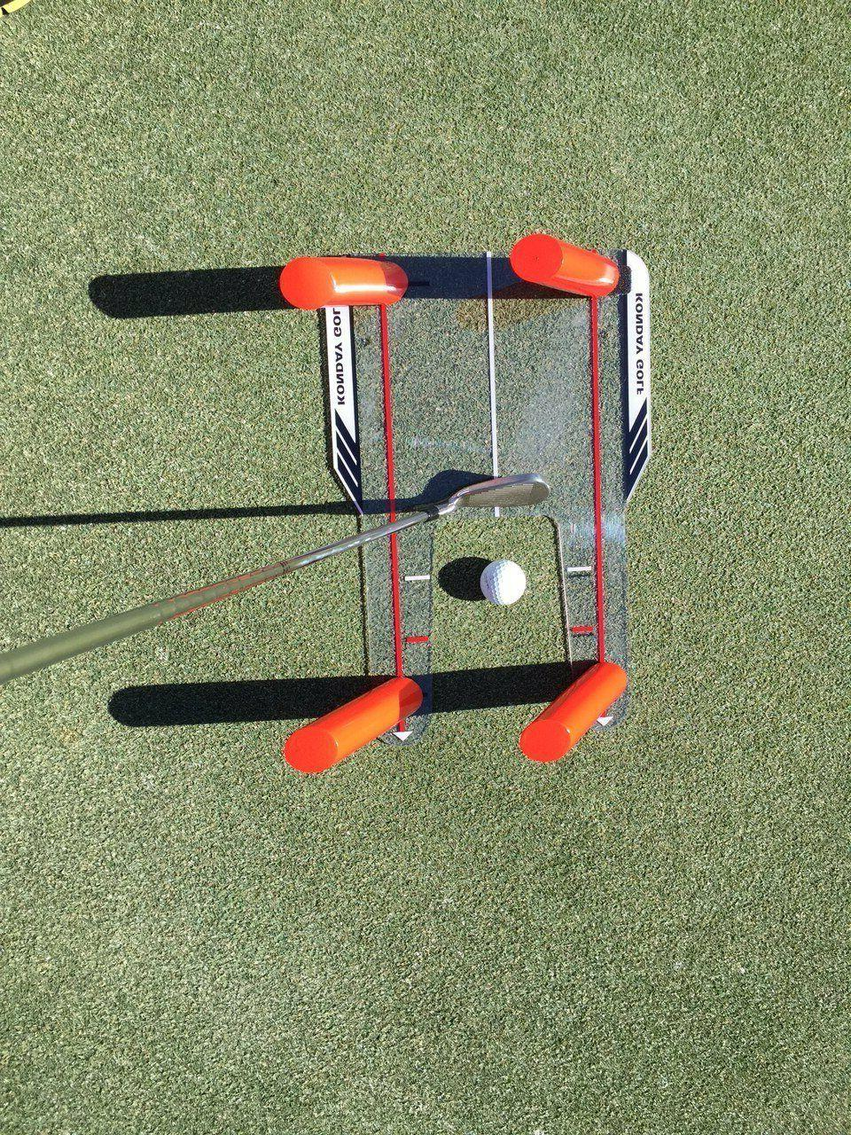 Golf and Corrector with Rods - Swing