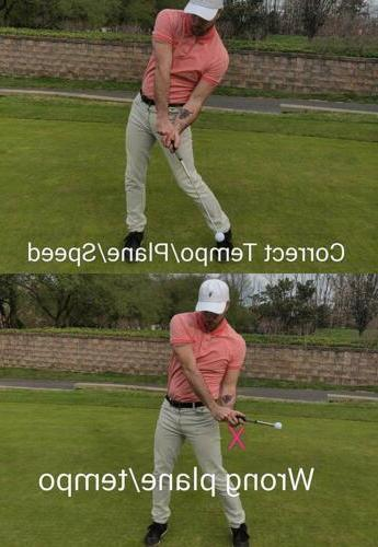 Golf Swing Correction for Strength Tempo Flexibility