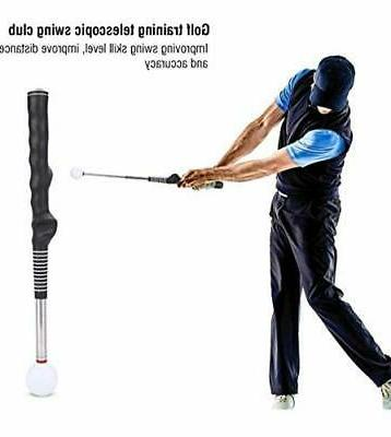 golf swing trainer aid correction for strength