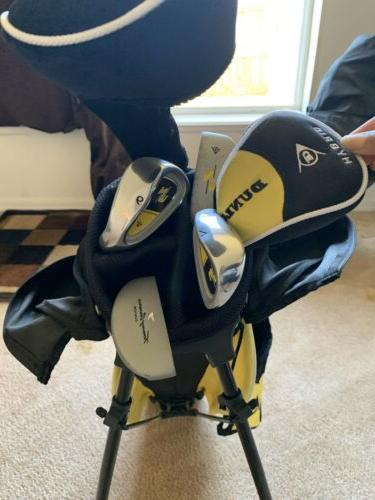 great deal yellow and black golf clubs