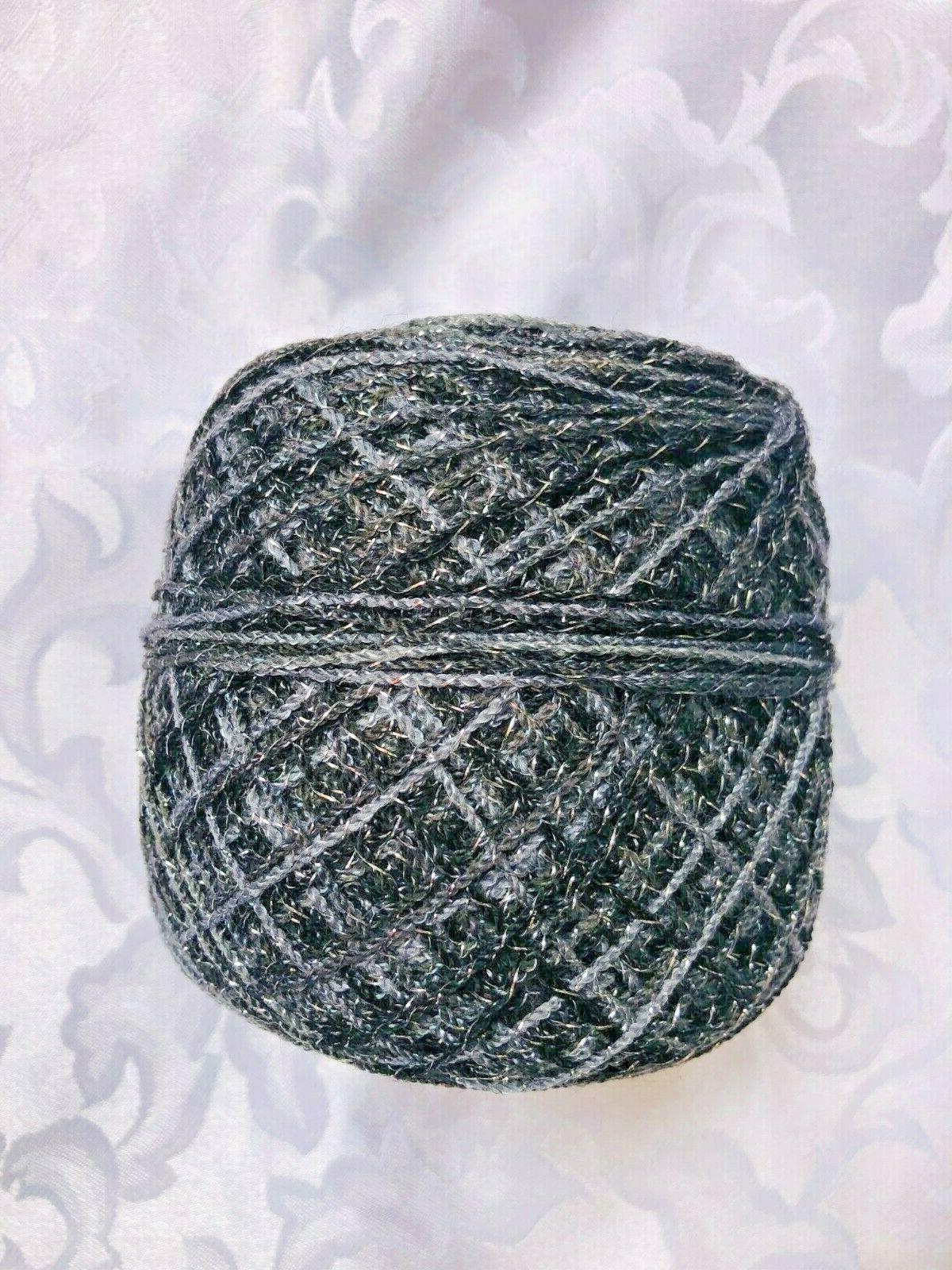 hilo cristal acrilico con brillo crystal yarn