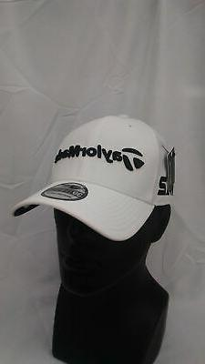 Men's TaylorMade Golf Tour 39Thirty New Era Fitted Hat White