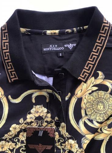 men s luxurious polo shirt italian style
