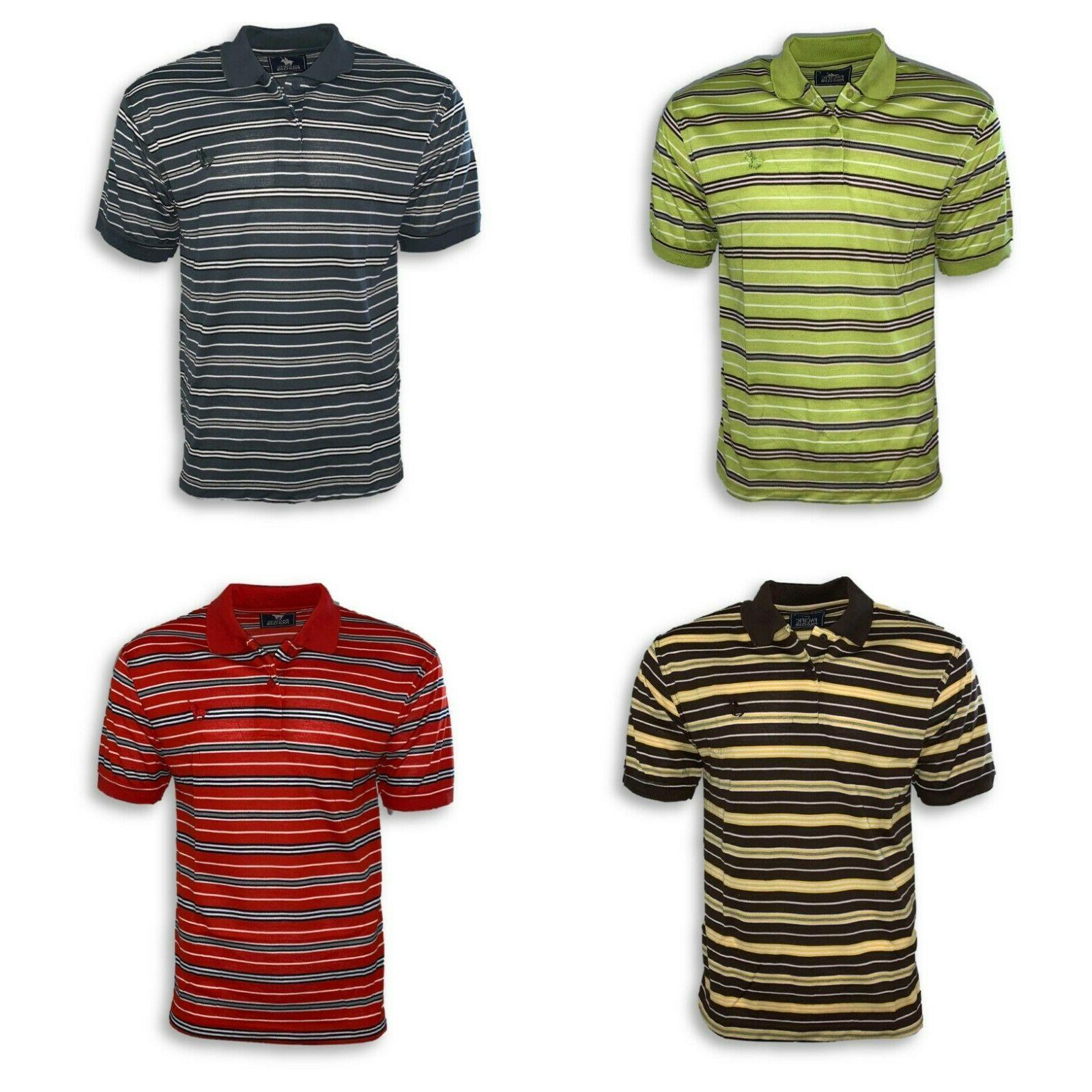 men s pique polo golf shirt standard