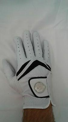 NEW TaylorMade Men's Pebble Beach Stratus Golf Glove White L