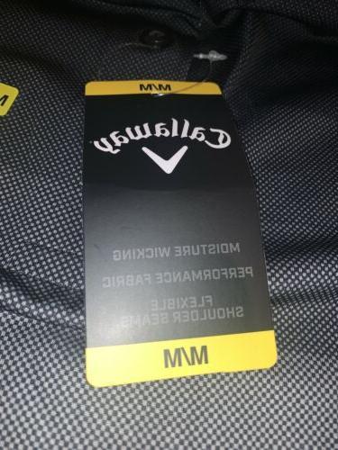NWT Men's Black Golf Shirt