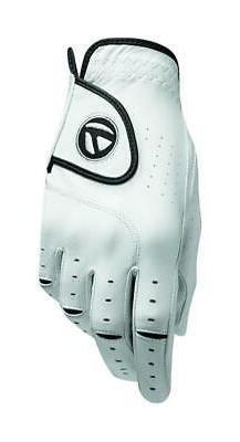 TaylorMade Men's Targa Glove-Right Hand-White-Large