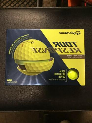 tour response yellow golf balls