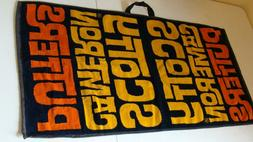 Scotty Cameron Large print Yellow/Orange print golf towel Ma