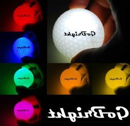GoBright LED Light Up Night Golf Balls - Ultra Bright Glow i