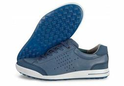 ECCO Men's Lux Golf Shoe, Bison/Stone 44 EU/10-10.5 M US