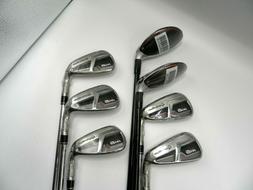 TaylorMade M6 Combo Set #4,5 Graphite Hybrids 6-pw Steel Iro