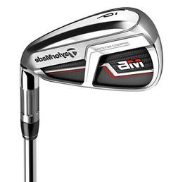 TaylorMade M6 Iron Set 4-PW,AW Right Handed Stiff Flex Steel