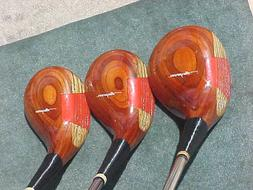 Dunlop Maxpower Refinished Golf Clubs set Woods Driver 3 5 w