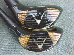 Dunlop Maxpower Refurbished Golf Clubs set 3 & 4 Woods w New
