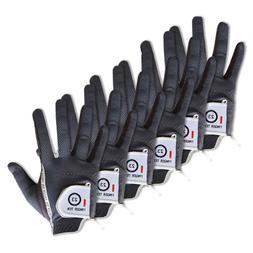 men s 6 pack golf gloves left