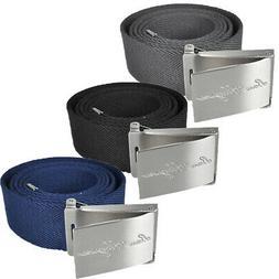 Ben Hogan Men's Adjustable Size Web Belt - One Size Fits Mos