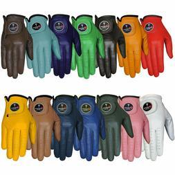 Men's Golf Gloves OptiColor Premium Leather Golf Glove/ All