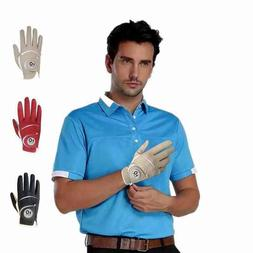 Men's Golf Gloves With Ball Marker 1 Pack For Left Hand Lh P