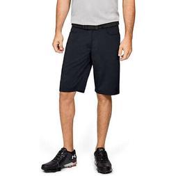 Under Armour Men's Leaderboard Golf Shorts, Black /Black, 34