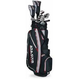Callaway Men's Strata Complete 12-Piece Golf Club Set with B