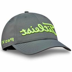 TITLEIST MEN'S TOUR PERFORMANCE ADJUSTABLE HAT CAP CHARCOAL