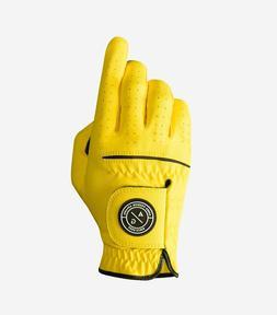Men's Asher Yellow Chuck Golf Glove