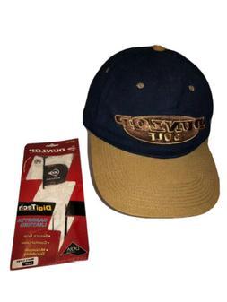DUNLOP Men's Adjustable Hat And DigiTech Leather GOLF Glov