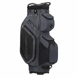 TaylorMade Mens Cart 8.0 Cart Golf Bag 2020 - Charcoal/Black