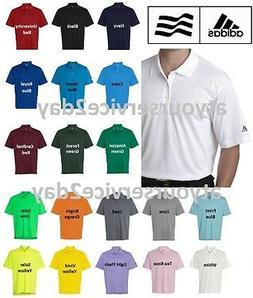 ADIDAS Mens Dri Wick Climalite GOLF Polo Sport Shirts Size S
