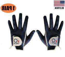 Mens Golf Gloves Pair Rain Grip L Large XL ML Medium Both Ha