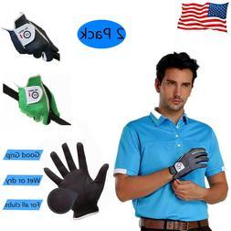 Mens Left Handed Golf Gloves Footjoy 2 Pack No-Slip Breathab