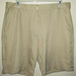 mens size 38 NEW NWT khaki BEN HOGAN GOLF WEAR SHORTS flat f