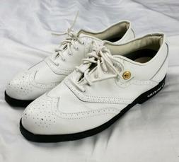 New DUNLOP Men's Sz 7.5 WHITE Golf Shoes CHAMP LITE WATE Met