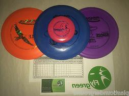 NEW FRISBEE DISC GOLF INNOVA BUILD YOUR OWN 3 PACK SET DRIVE