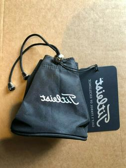 """NEW Titleist Golf """"Club Life"""" Sports Valuables Pouch Black M"""