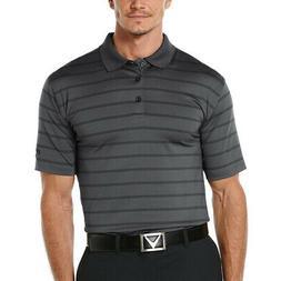 New Callaway Golf Men's Performance Stripe Polo MOISTURE WIC