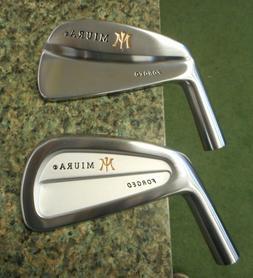 New Left Hand Miura Golf Cavity Back or Tournament Blade 3-i