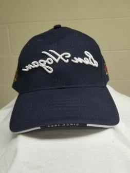 New Ben Hogan Men's Embroidered Golf Hat Cap Adjustable Navy