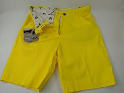 New Men's Royal Awesome Golf Shorts   Size    Yellow