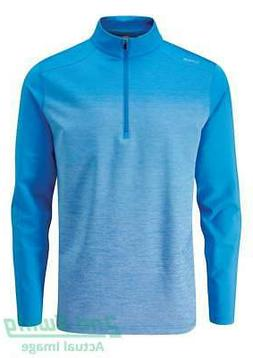 New Mens Ping Fracture 1/4 Zip Pullover Large L Sky Azure P0