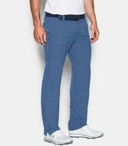 NEW Under Armour Mens Match Play Vented Golf Blue Pants 1259