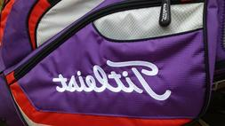 """NEW - Titleist Stand Carry Bag 4-way Dividers 2-strap """"The B"""
