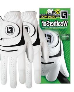 New FootJoy WeatherSof 2-Pack Golf Gloves - Value Pack - Sel