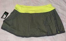NEW Women's Slazenger Golf Skort Skirt with Shorts Size Larg