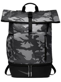 Nike Sport Printed Golf Athletic Training Backpack  Black-Gr