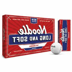 Taylormade Noodle Long and Soft White Golf Balls - 15 Ball P