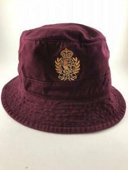 NWT Polo Ralph Lauren Crest Cotton Twill Bucket Hat L/XL